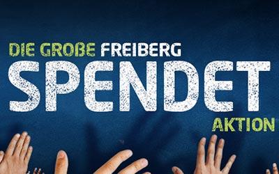 Spendenaktion für Freiberger Vereine